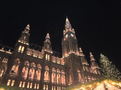 ウィーンのクリスマスマーケット 2013 ~市庁舎前広場~