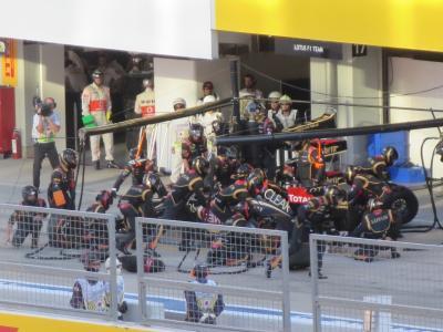 F1日本グランプリ2013 鈴鹿サーキット 観戦記 ~日曜②決勝レース・スタート~ゴール編