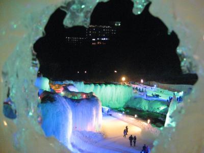 北海道冬の祭典1☆阿寒湖冬華美&層雲峡氷瀑まつり~クリオネも見たよ~編