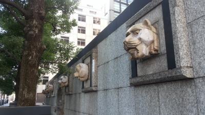 東京散歩、虎ノ門~オークラガーディン~アメリカ大使館~日比谷ダイビル~銀座 (港区) - 11月 2013年