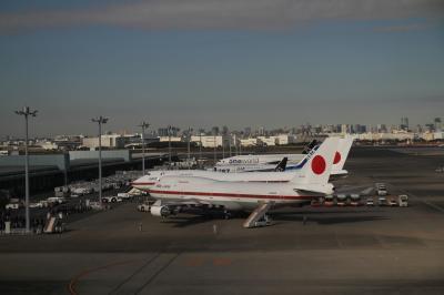 久しぶりの横浜、そして羽田で政府専用機を発見!