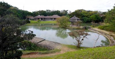 2013年沖縄出張旅行3-識名園,帰京