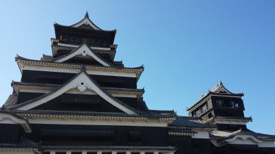 熊本城から阿蘇内牧