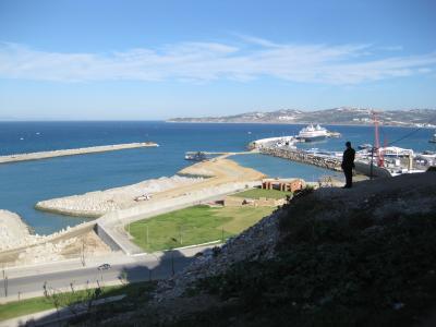 モロッコぐる~り周遊13日間(2) ◇◆タンジェ ジブラルタル海峡に面した港町◆◇