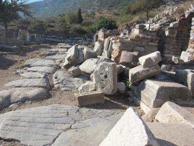 地中海クルーズ No.19 Oct 22 Ephesus / Kusadasi, Turkey 7:00am 7:00pm