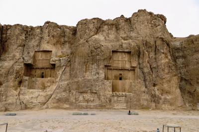 2012秋、イラン旅行記(25)ペルセポリス、ナクシュ・ロスタム