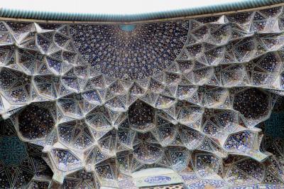 2012秋、イラン旅行記(41):11月21日(7):イスファハン(10):イマーム広場、王族の礼拝所、イマームモスク