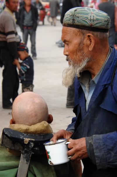 2013年中国新疆放浪記Z04・新疆の維吾爾鬚くまおやじたち特集~其の肆