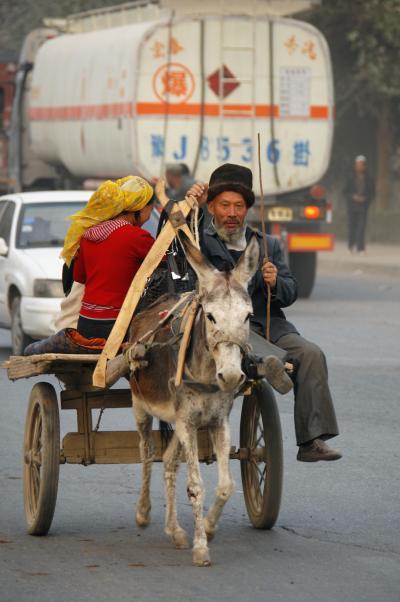 2013年中国新疆放浪記Z05・新疆の維吾爾鬚くまおやじたち特集~其の伍・家族でリヤカー♪