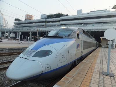 韓国鉄道旅行《前半》