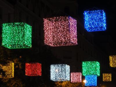 マドリード 2013 クリスマス イルミネーション