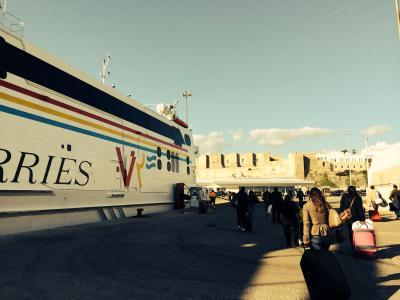 タンジェからジブラルタルを越え、スペインタリファへ!