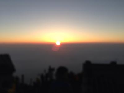 富士登山で高山病
