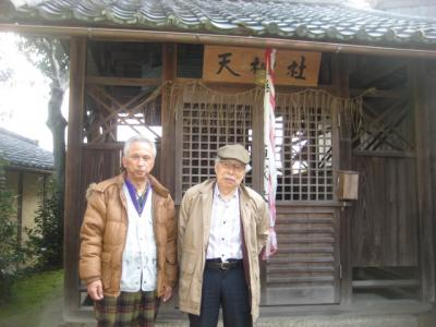 同志社大学の創始者新島襄が明治時代に「南山義塾(中学校)」を設立した場所を見学