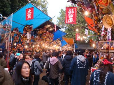 大宮氷川神社2013十日市(とおかまち) 大湯祭
