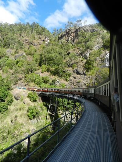 キュランダ鉄道から滝見物!♪◆初オーストラリア!ケアンズ近郊で滝めぐり&グレートバリアリーフ≪その14≫