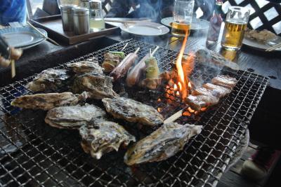 食いしん坊万歳! IN 小浜・雲仙・島原♪(牡蠣焼き)