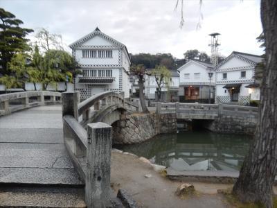 岡山 第二弾 倉敷 美観地区 倉敷川沿い。