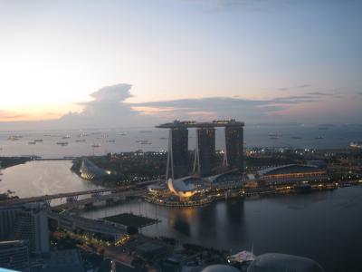 シンガポールで大忙し ユニバーサルと素敵な夜景とチキンライス♪