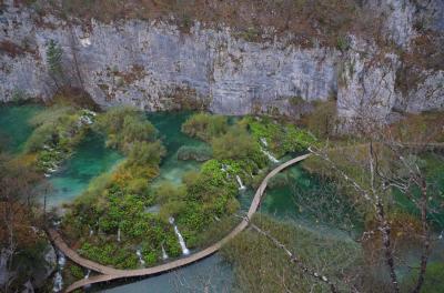 新婚旅行 クロアチア②(プリトヴィッツェ湖畔国立公園)