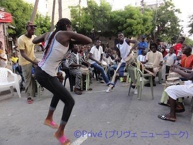 カリプソのルーツを求めて、セネガル