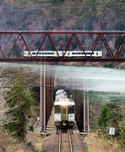 S L には乗れなかったけれど 磐越西線と阿賀野川