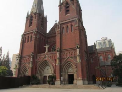 上海の徐家匯・天主堂・2013年