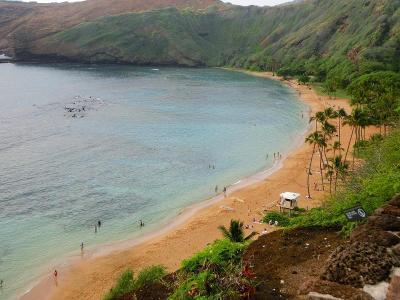 ハワイ旅行・ハナウマ湾
