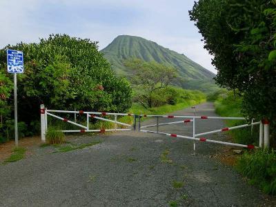 ハワイ旅行・ココヘッドトレイルの登山口へ