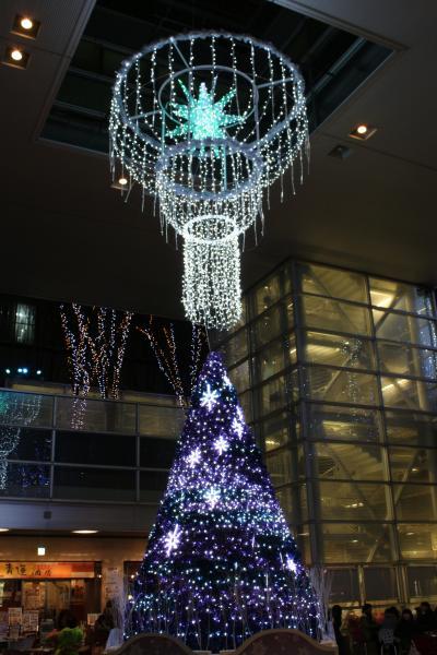 【さいたま新都心】今年もイルミネーションの季節がやってきた!PART4は「けやき広場 Blue Light Symphoney」。