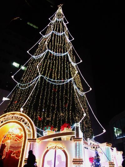 大阪駅周辺、クリスマスイルミネーション!