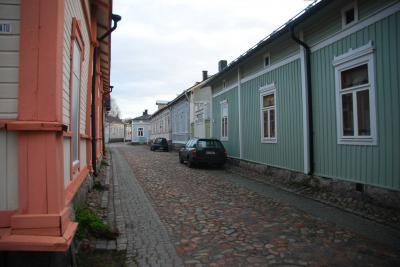 2013 フインランドの旅② 世界遺産『ラウマ旧市街』へ