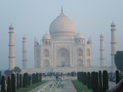 初インド、これがインド!②_アグラ