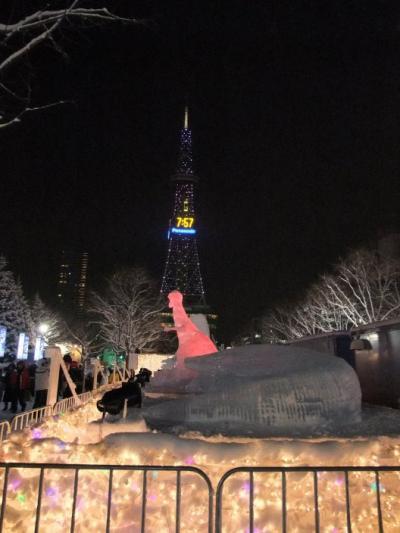 札幌&小樽の雪祭りとキロロ・スキー場での滑走