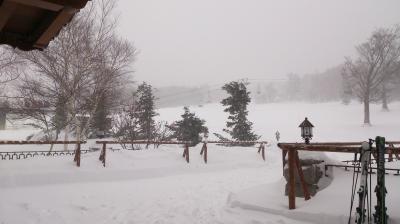白銀の奥志賀高原に行ってきました。