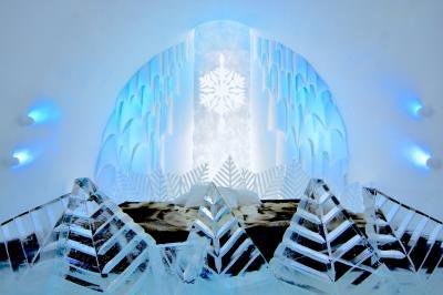 ひと冬だけの氷の世界を訪ねて~ICE HOTEL~