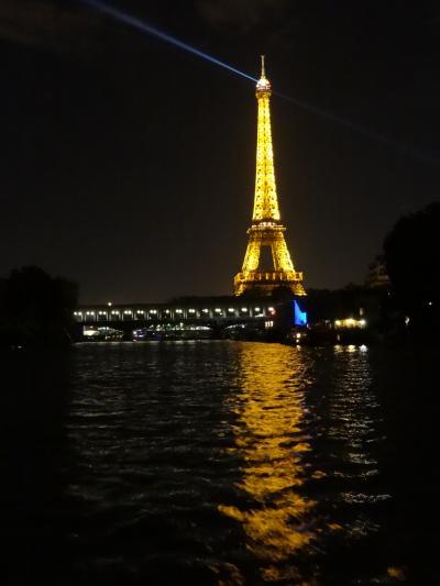 2013年 はじめてのヨーロッパ4 オンフルール・ヴェルサイユ・ルーブル・ディナークルーズ・・・そして日本帰国
