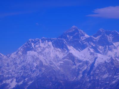ネパールへ、再び!①  念願のヒマラヤ遊覧飛行