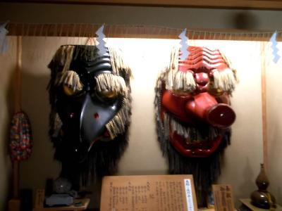 古峰神社にお泊り