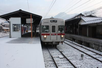 北信州旅行記2012年冬④長野電鉄長野線・屋代線・帰路編