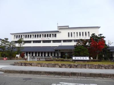 日本の旅 関西を歩く 兵庫県篠山市たんば田園交響ホール、篠山市庁舎、本経寺周辺