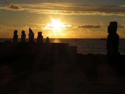 2013クリスマス休暇はイースター島