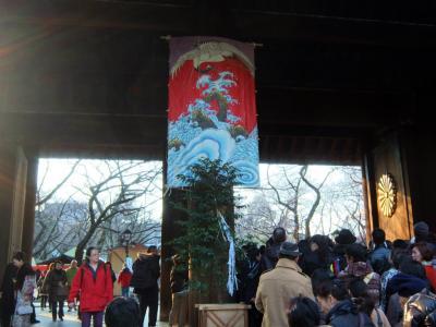初詣は靖国神社へ