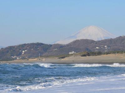 箱根駅伝を見に平塚へ… 2014.01.02 =1.到着そしてスタンバイ=
