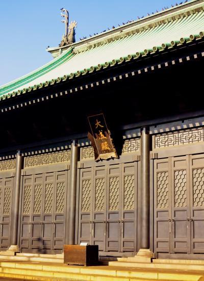 湯島聖堂 学問所発祥の史跡:受験生に人気 ☆孔子像は世界最大