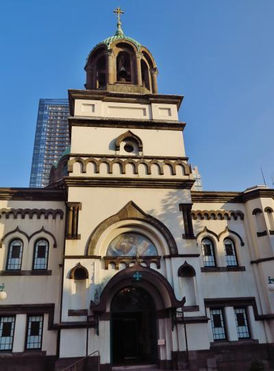 ニコライ堂=東京復活大聖堂=内部も拝観 ☆ビザンティン様式の教会