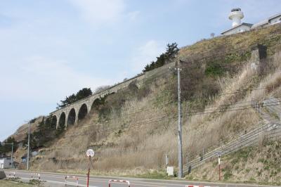 青森・函館旅行記2010年春④戸井線アーチ橋編