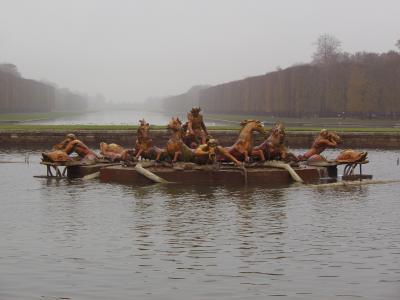 フランス弾丸な旅2013 08:濃霧のベルサイユ宮殿へ2/2