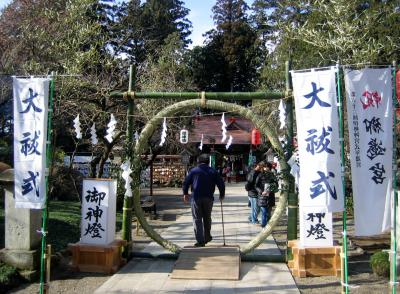 初詣へ行きました。栃木県芳賀、天満宮~大田原市光丸山法輪寺(日本一の天狗のお面を見てきました)