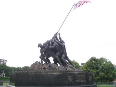 初めての海外出張+観光【ワシントンD.C.】(硫黄島記念碑,アーリントン国立墓地,スミソニアン博物館)